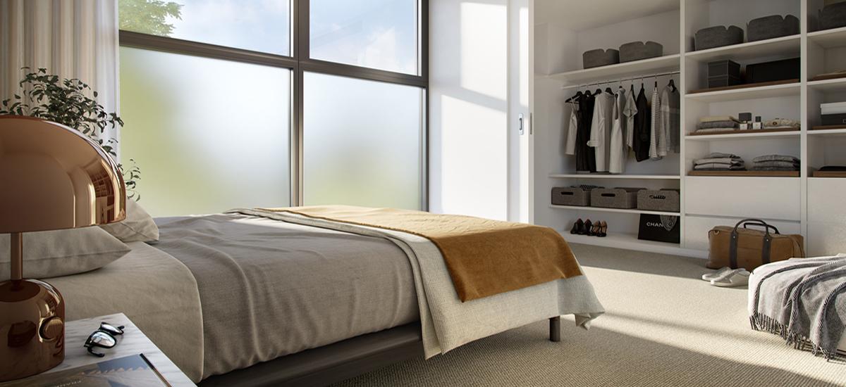 1975 Malvern Road bedroom