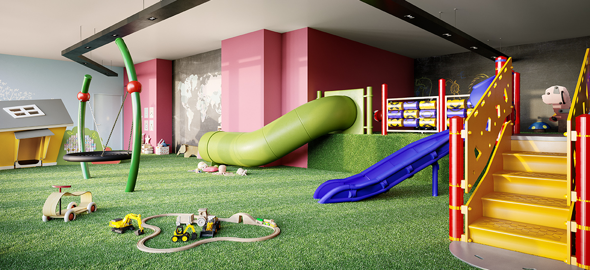 children playground at 57 Haig off plan apartment