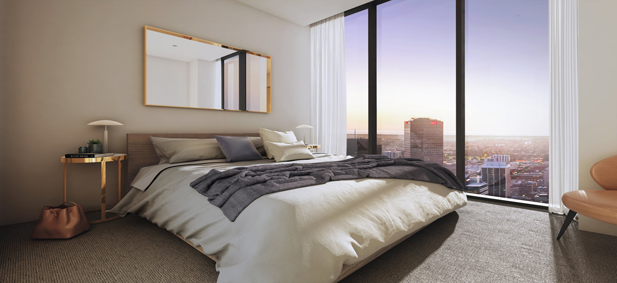 off the plan apartment for sale Adelaidean bedroom