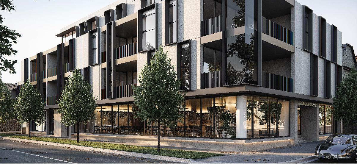 Aintree Park building exterior