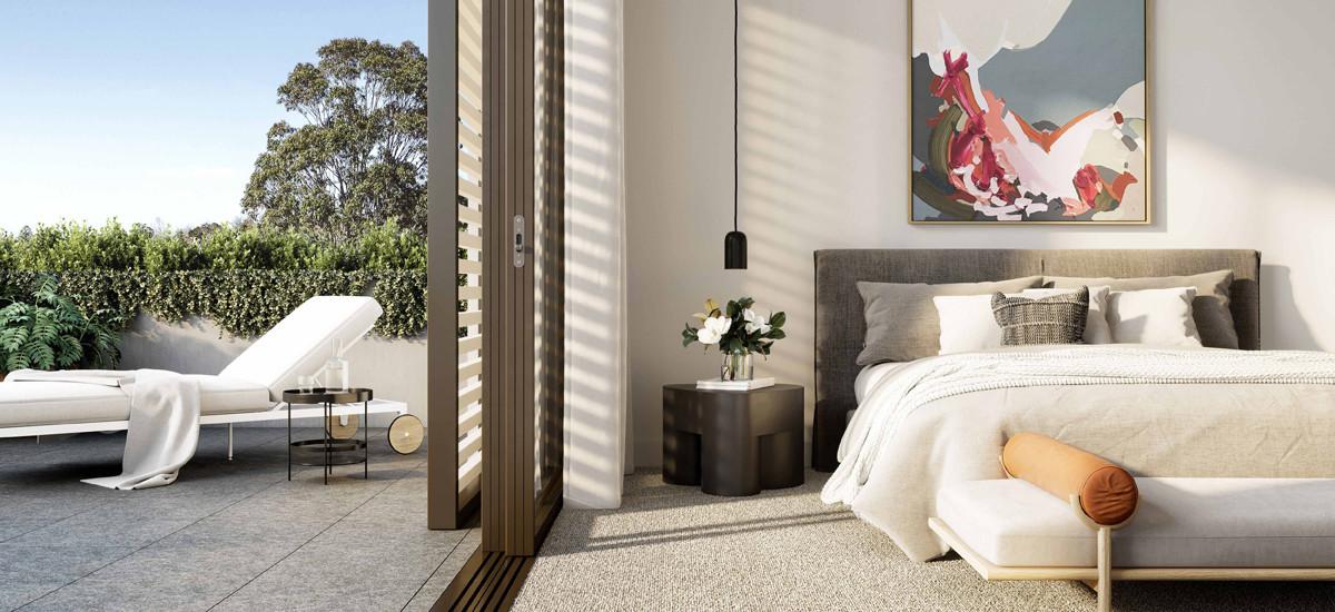 East Grove bedroom