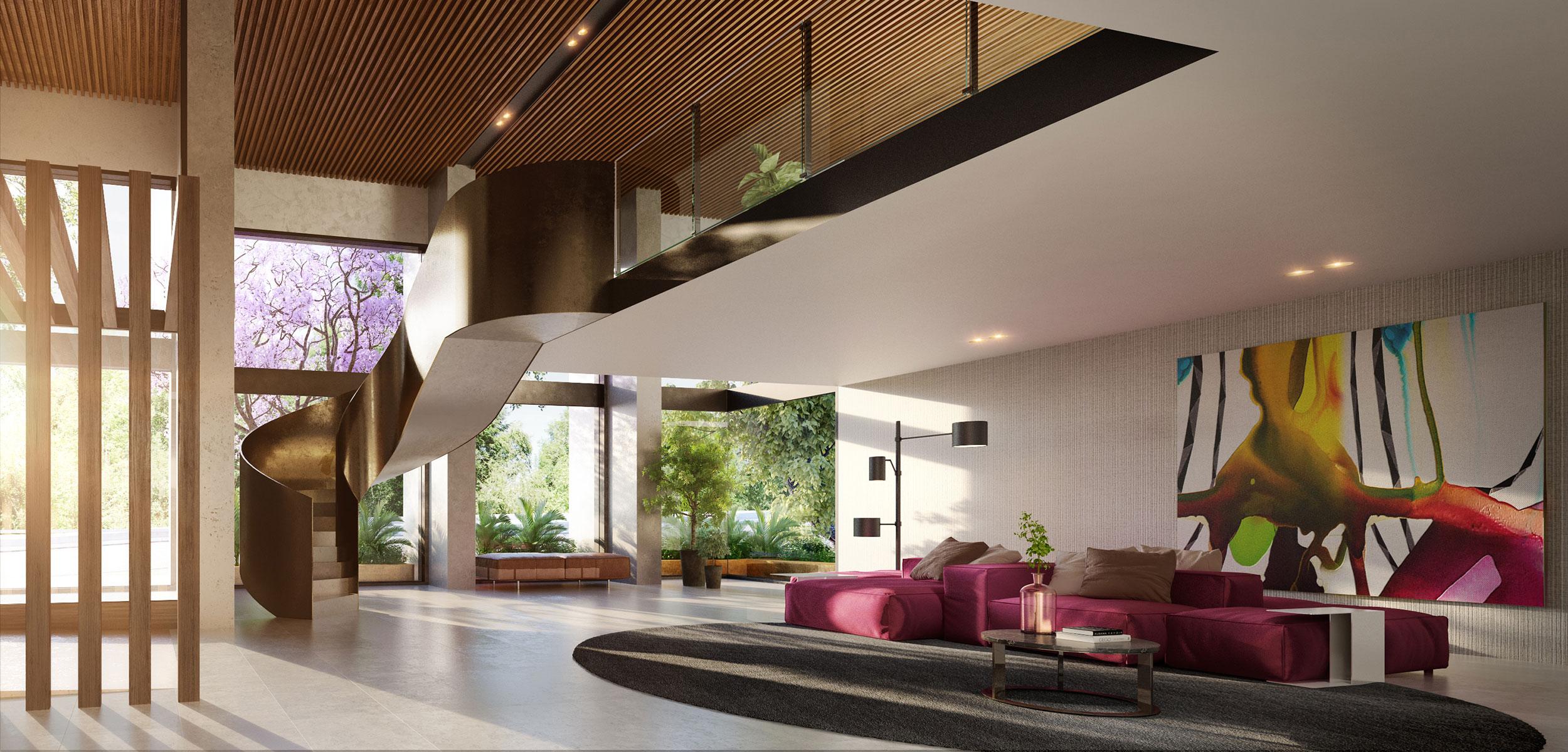Botanic foyer