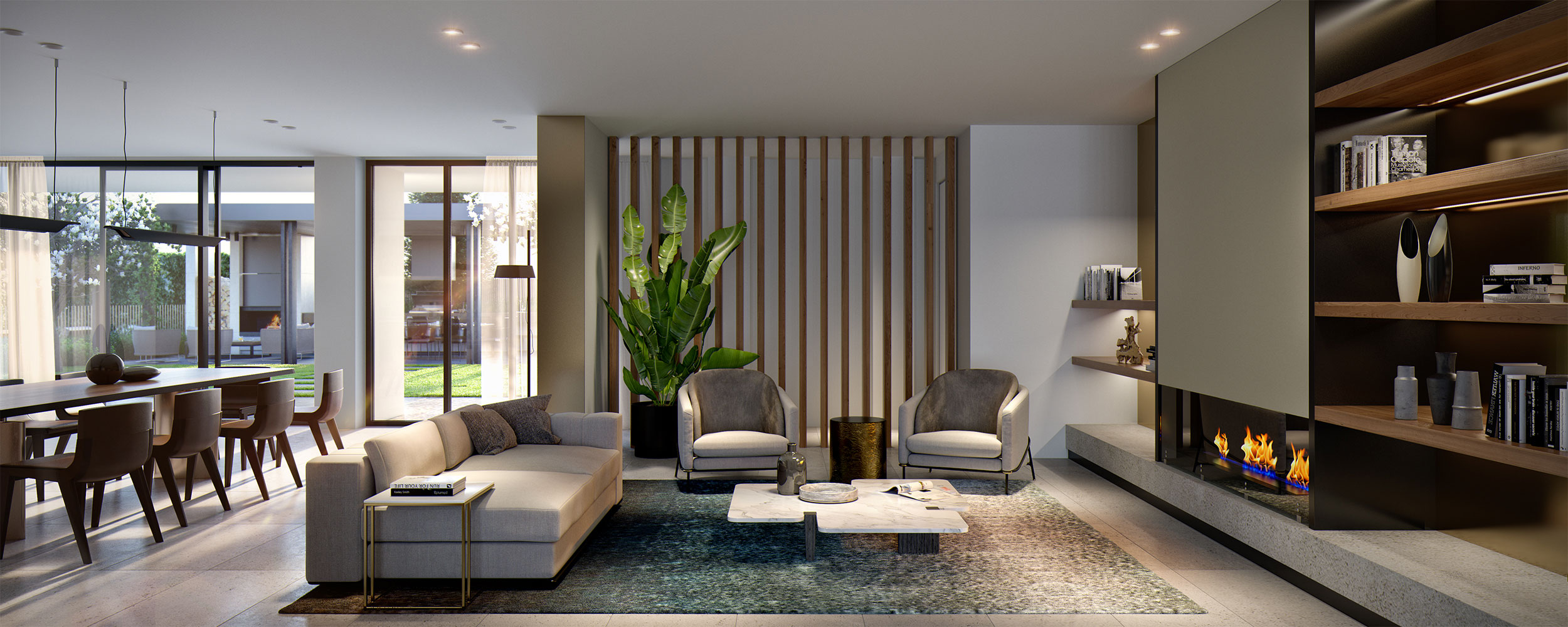 Botanic living room