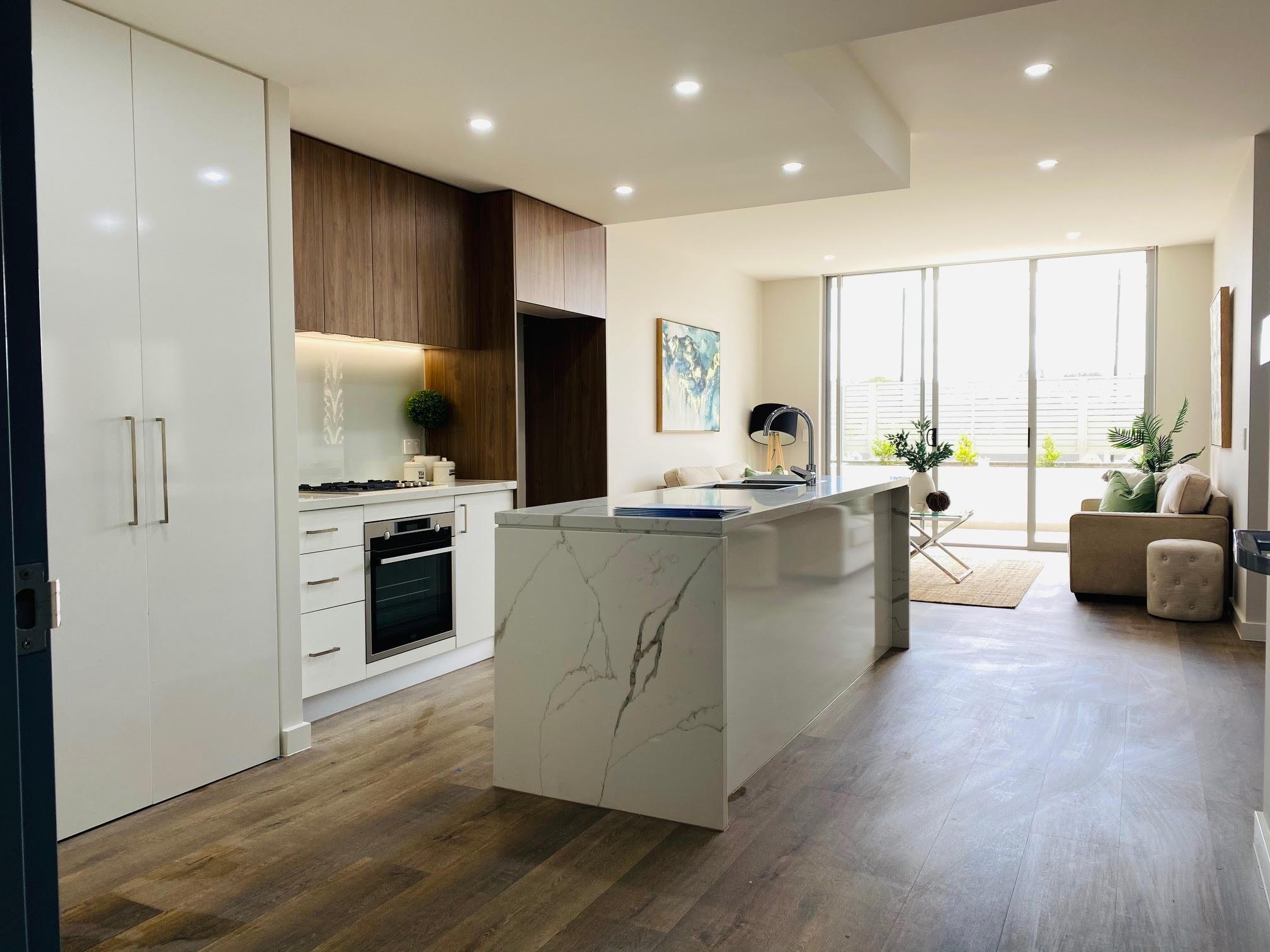 PINNACLE living kitchen