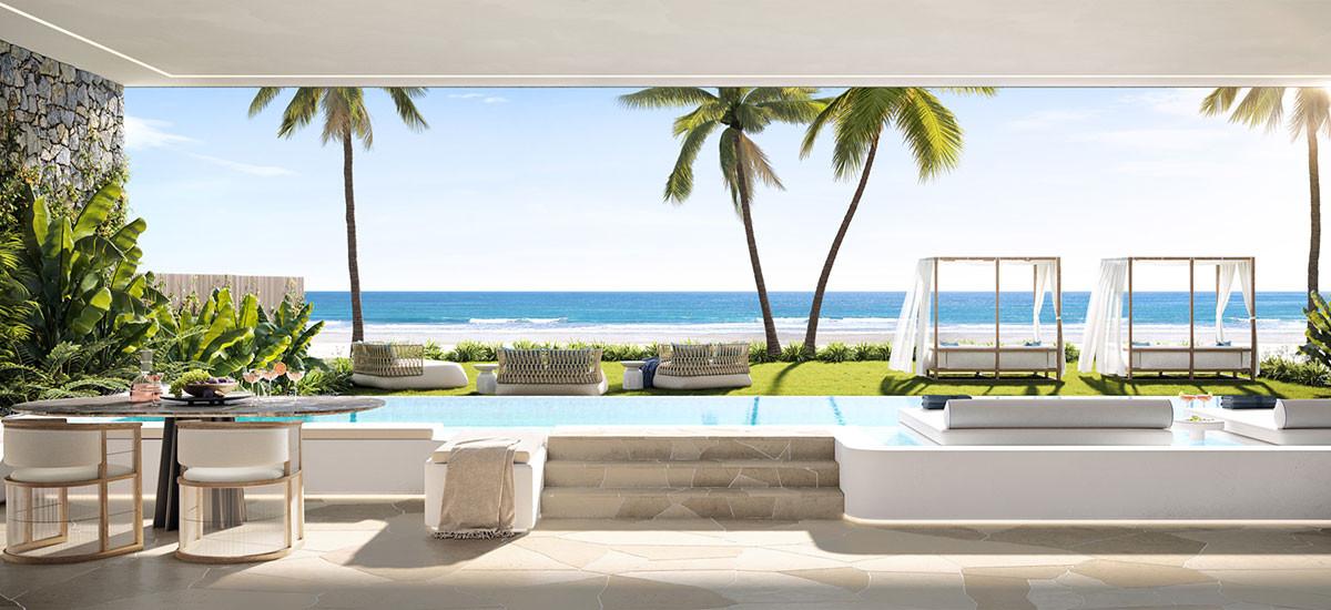Cabana Queensland Apartments Developments Palm Beach Pool Residential