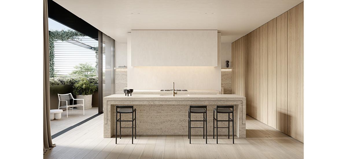 Daracombe kitchen