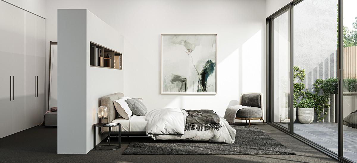 Wattle bedroom