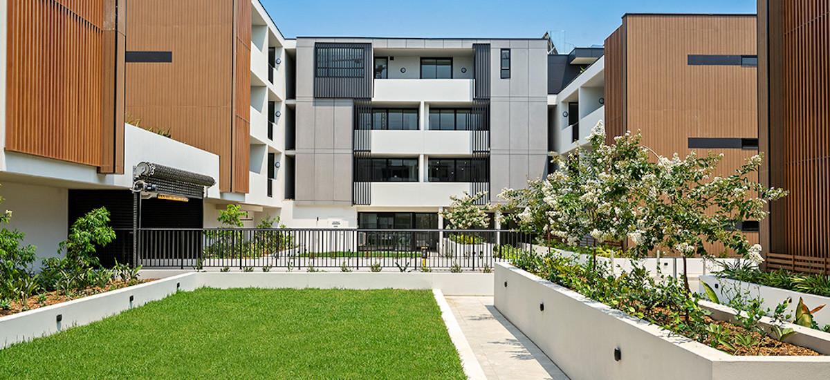 Grandfield Apartments terrace