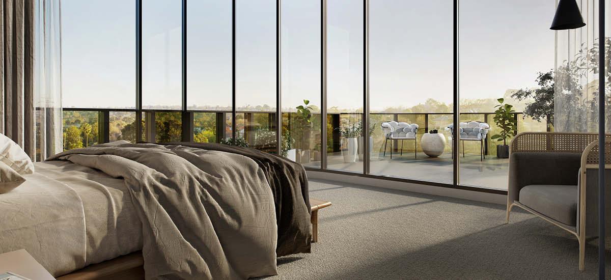 Highpark bedroom
