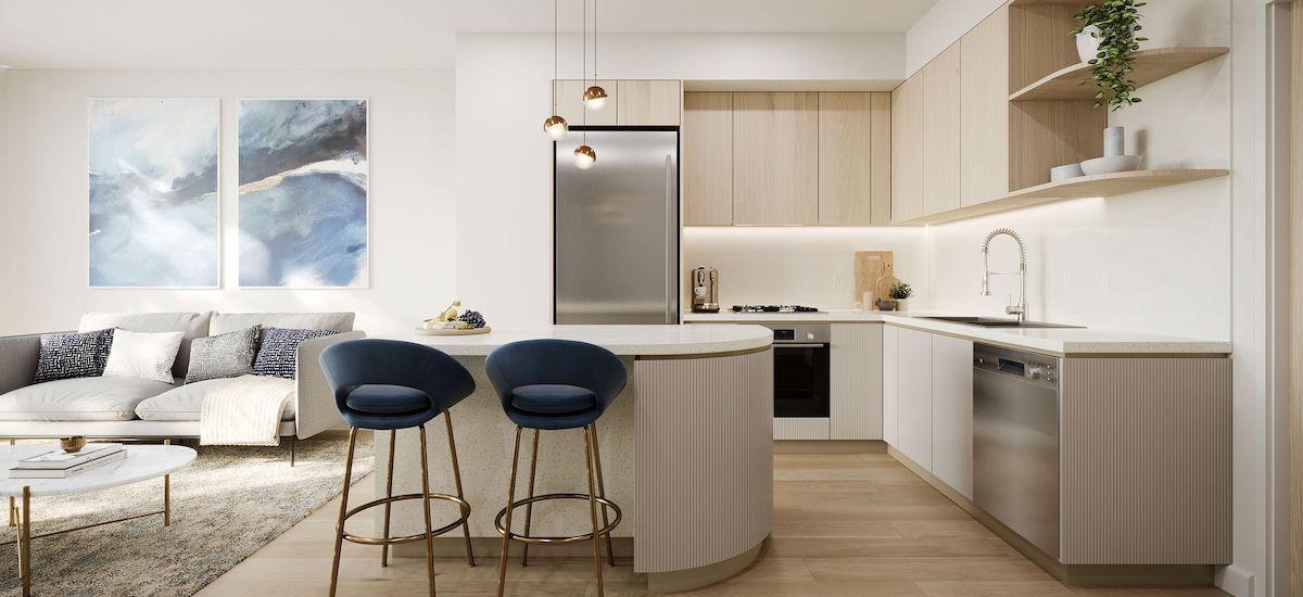 No 1 Zoe kitchen