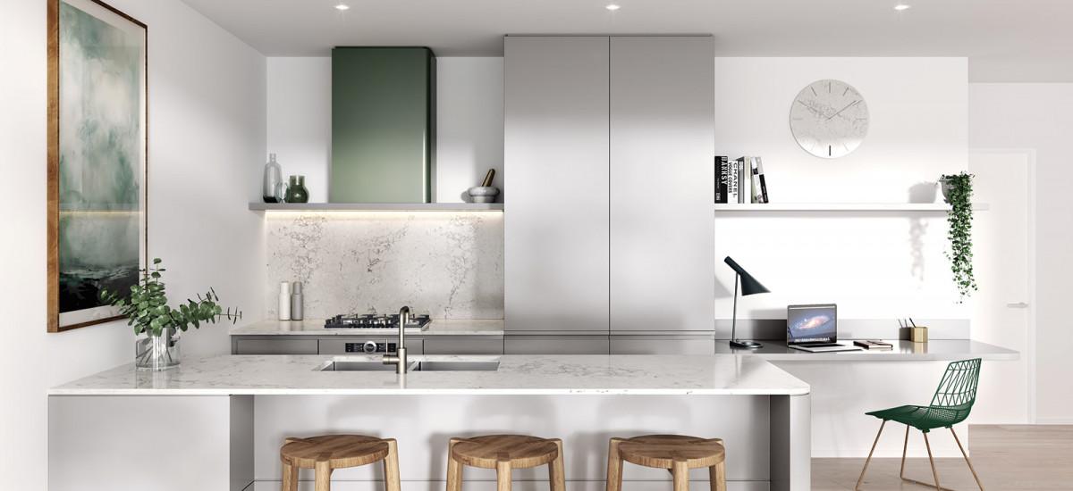 Martin & Powlett kitchen