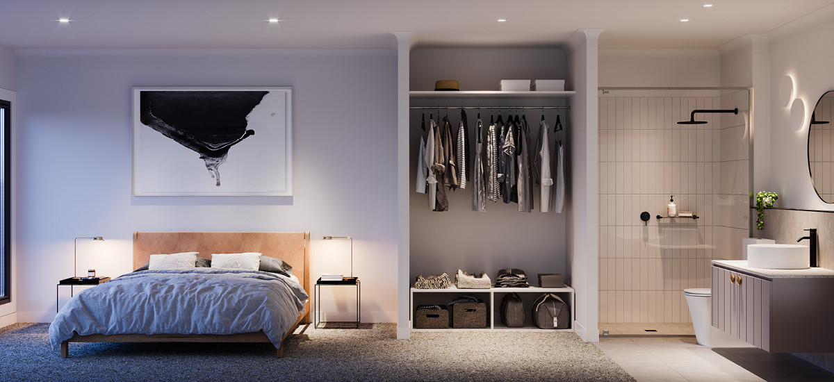 Rose and Bird bedroom
