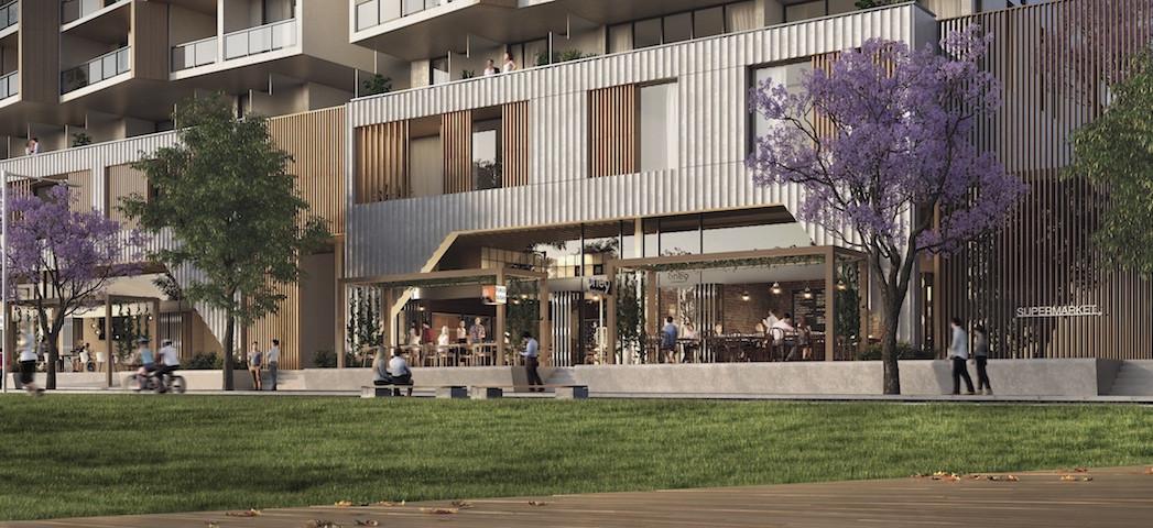 Park Sydney park and facade