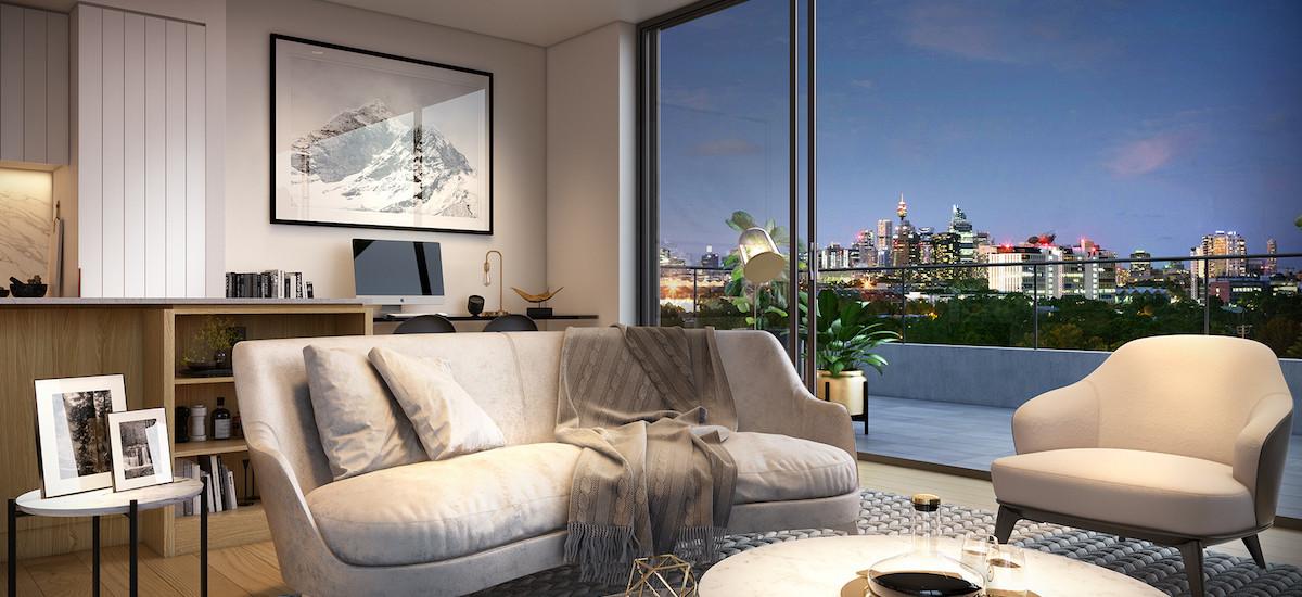 Park Sydney view