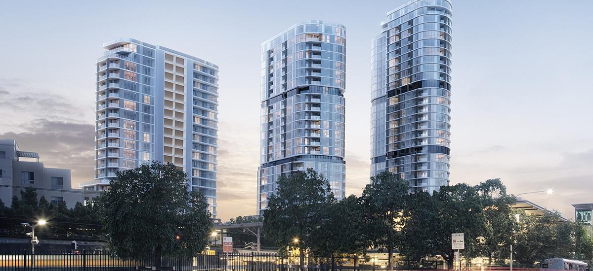The Langston facades