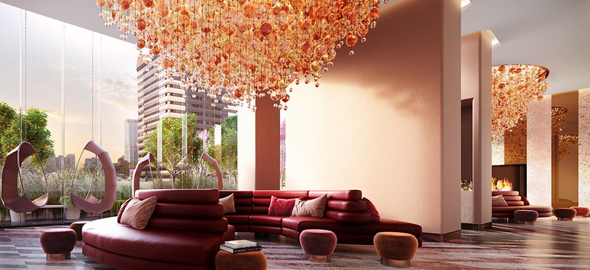380 Melbourne foyer