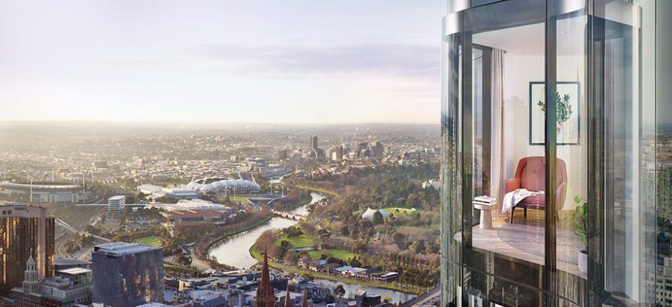 380 Melbourne view