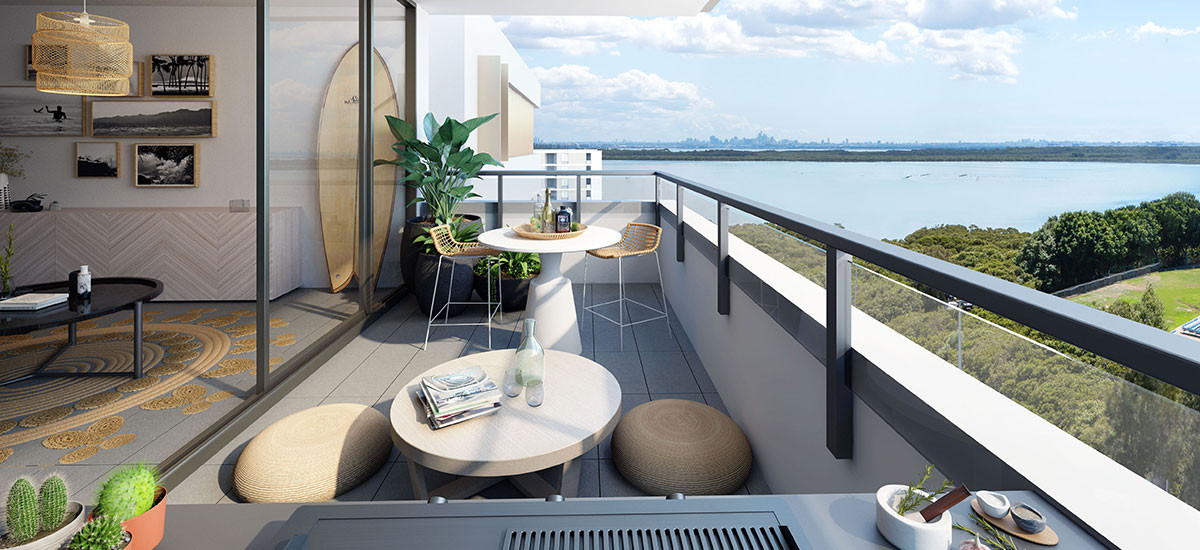 Woolooware Bay balcony