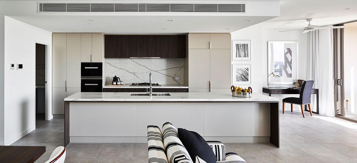 Ascot Green kitchen