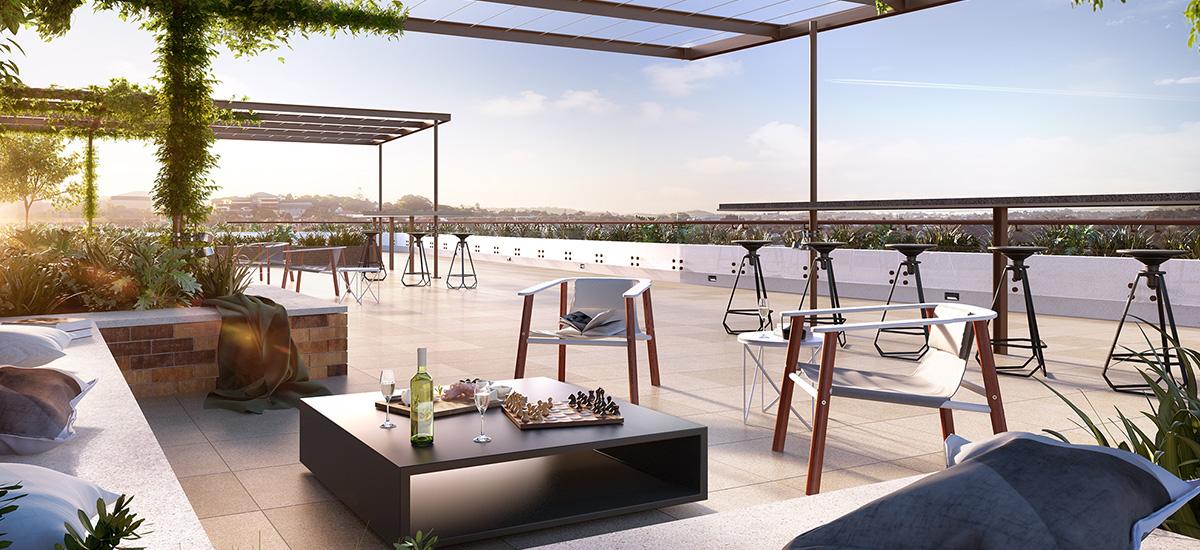 Ascot Green rooftop