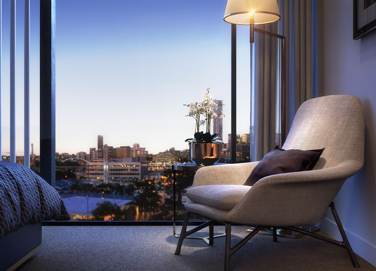 Aston Residences apartment in West End Queensland