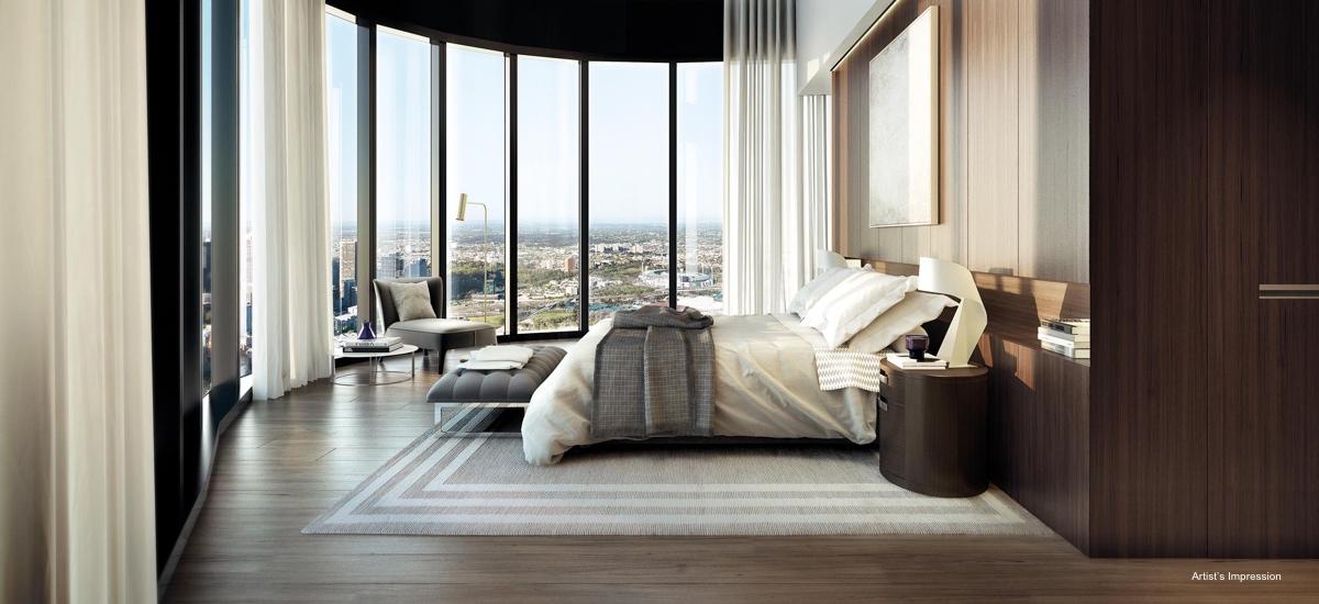 Australia 108 sub penthouse bedroom