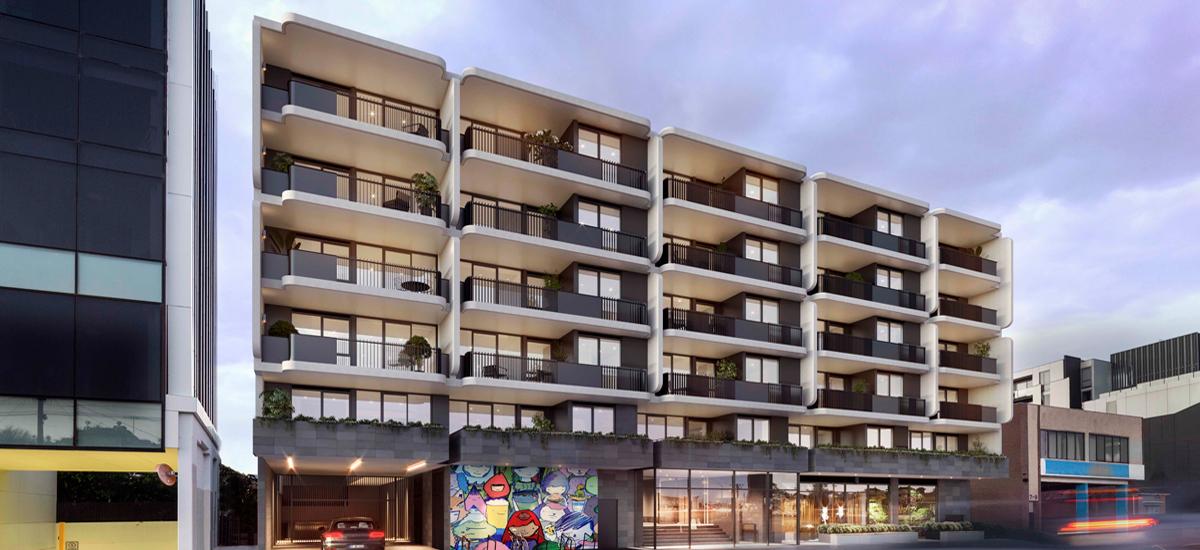 B.E. Apartments building exterior