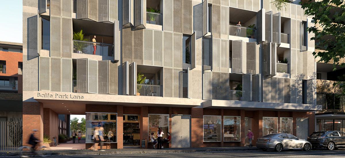 Balfe Park Lane building