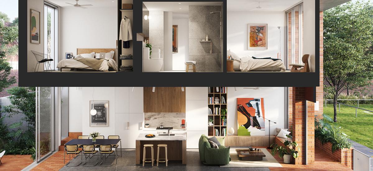 Balfe Park Lane off plan apartment