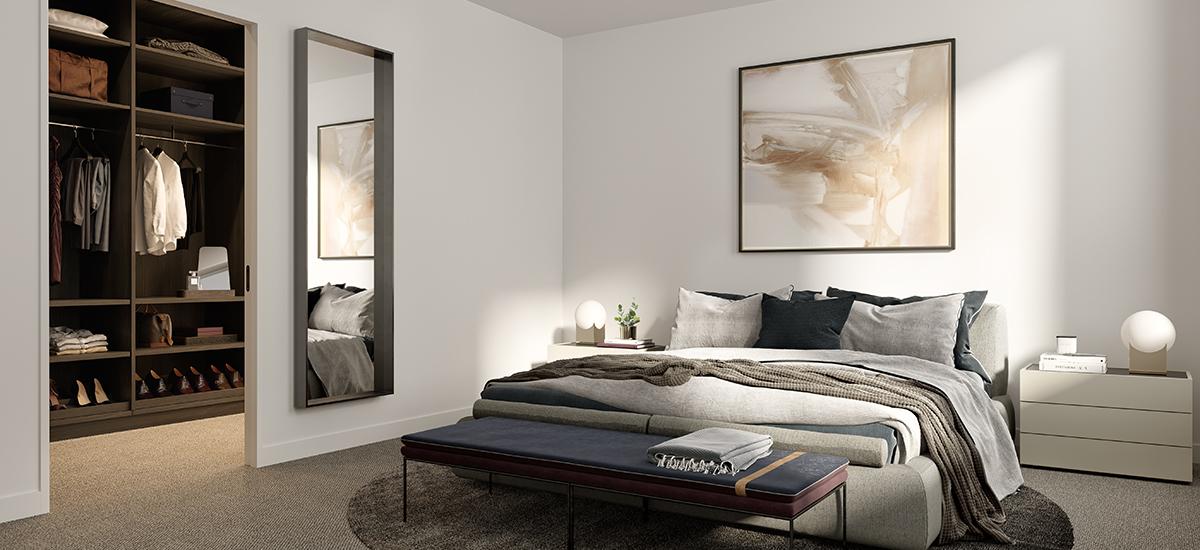 Carrington Hill bedroom