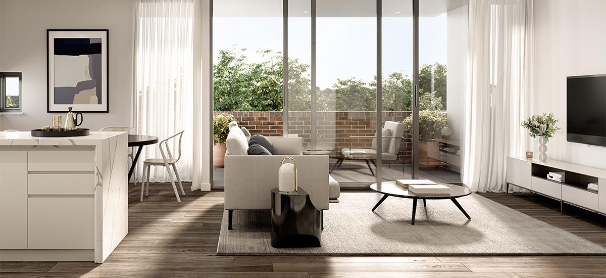 Carrington Hill living room