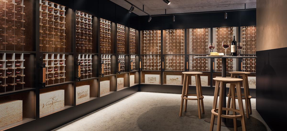 Caspian wine room