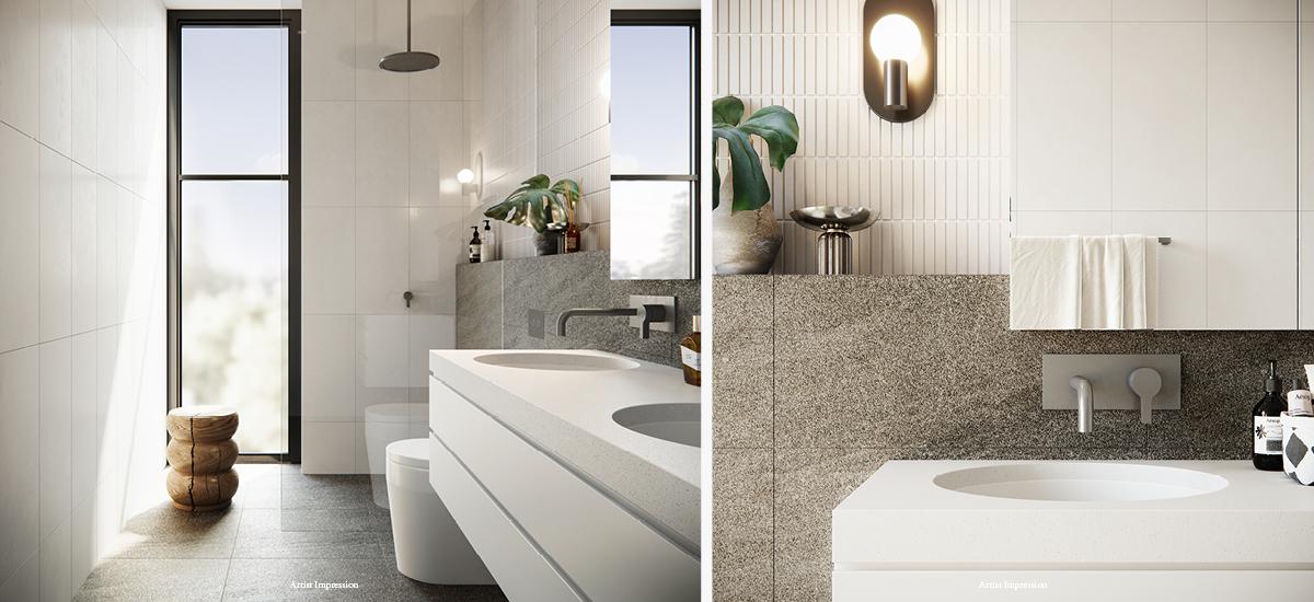 Curate Residences bathroom