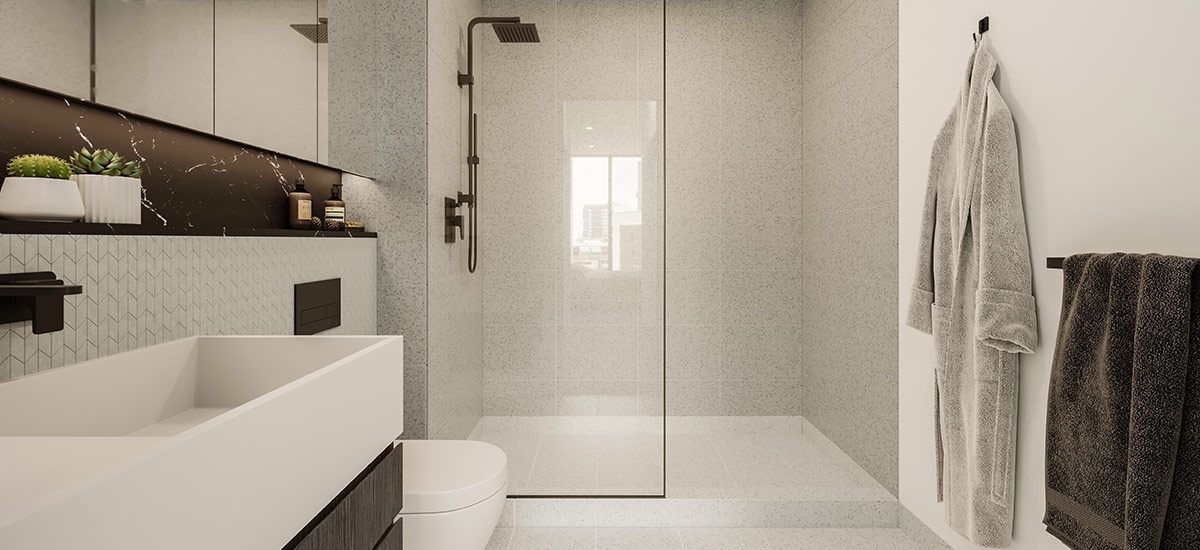 off the plan apartment for sale CV Windsor bathroom