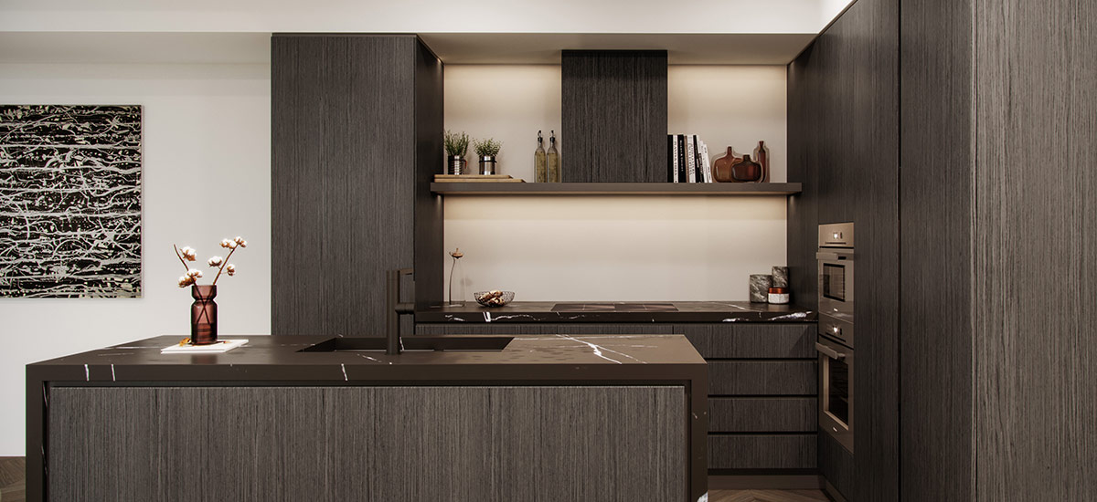 off the plan apartment for sale CV Windsor kitchen