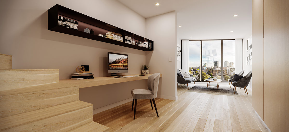 off the plan apartment for sale CV Windsor study