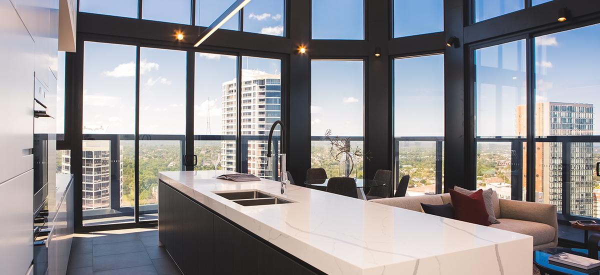 Embassy Tower kitchen