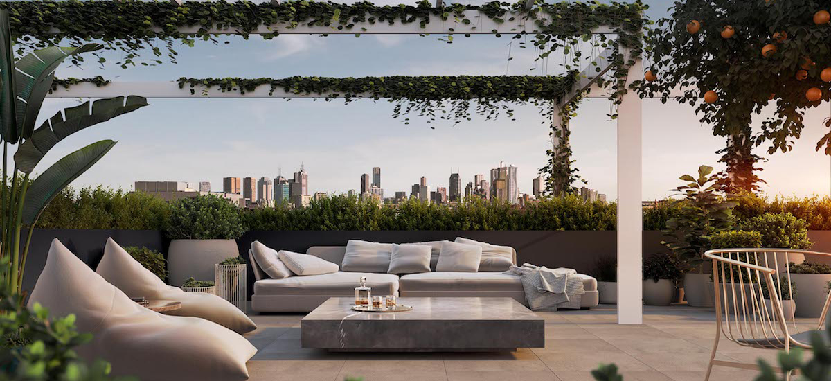 off the plan apartment for sale Finery rooftop lounge