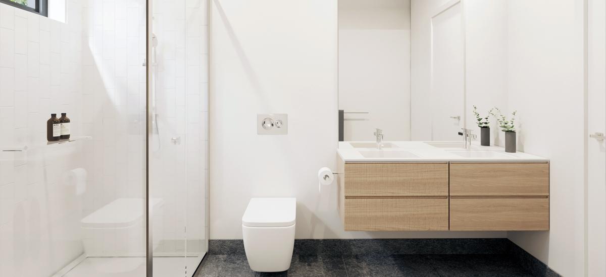 Gardenia park bathroom