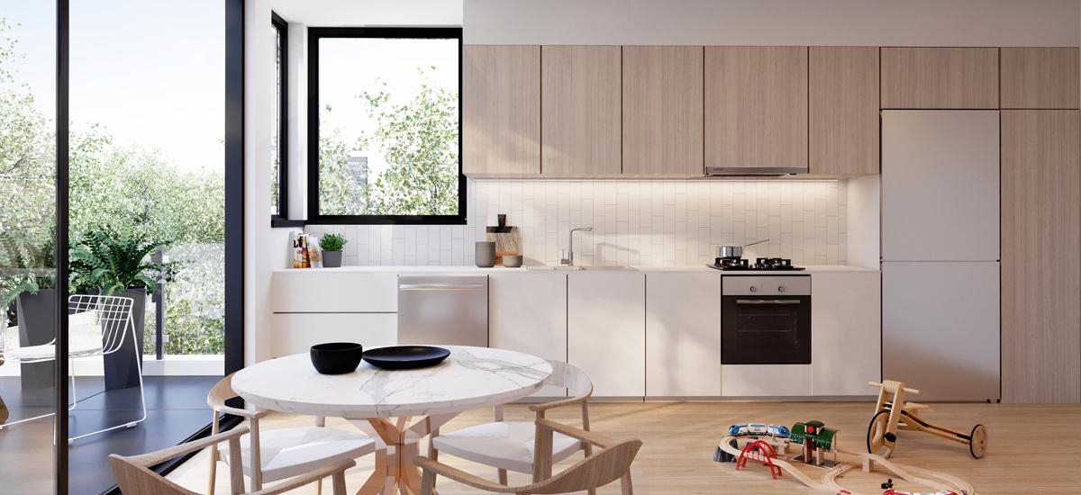 Gardenia park kitchen