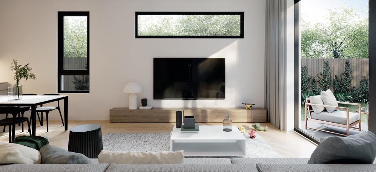 Gardenia Park living room