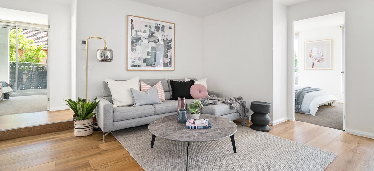 Garnet living room
