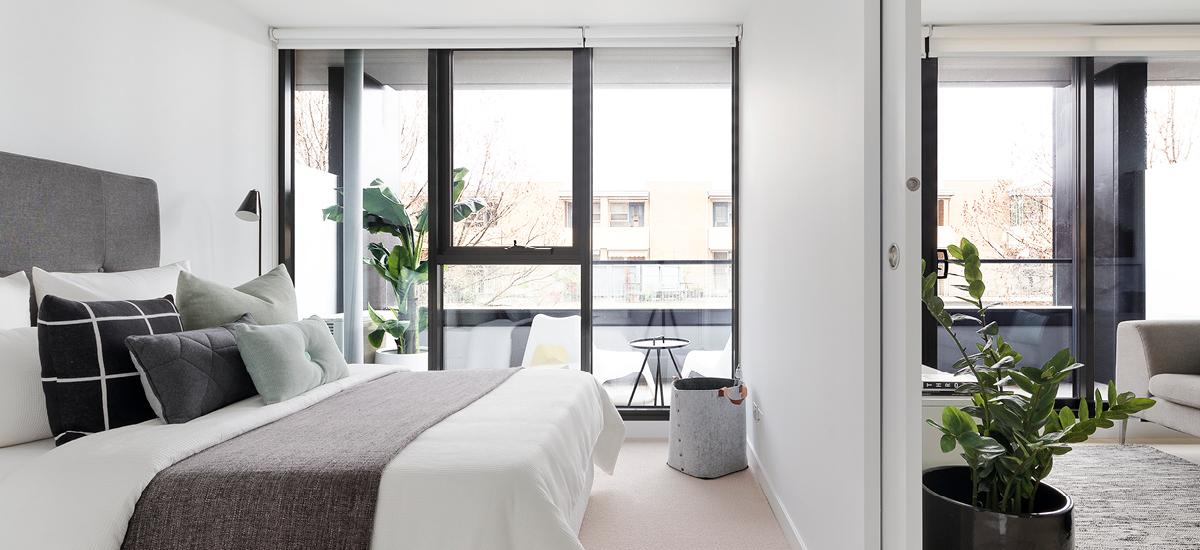 Hall St bedroom