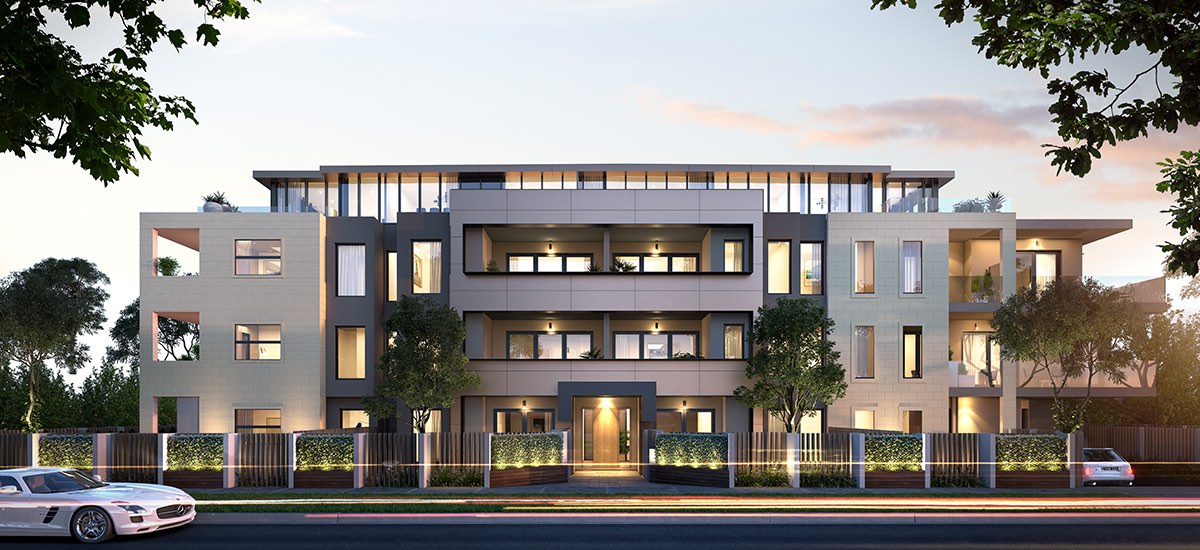 off plan apartment for sale Highett House apartment building exterior in Highett Victoria