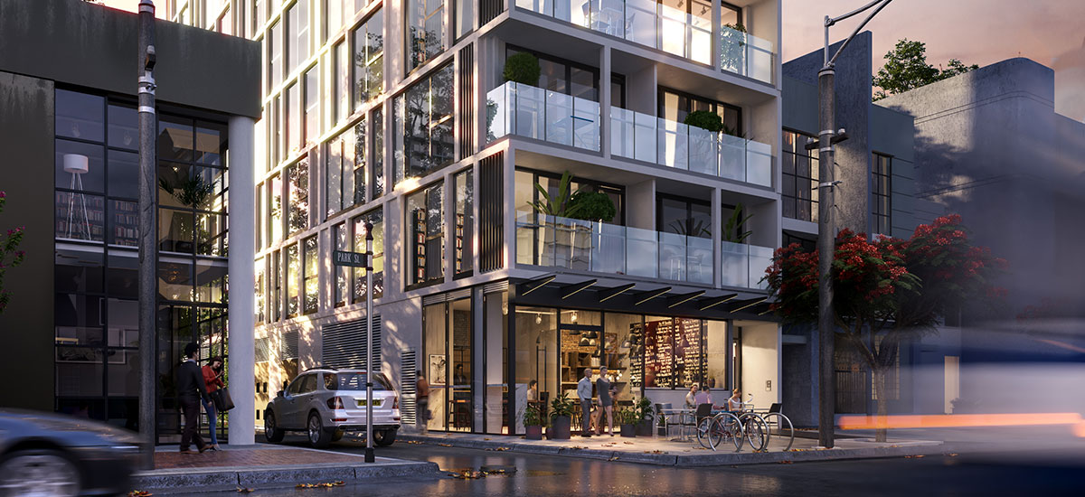 off the plan apartment for sale Linden House facade