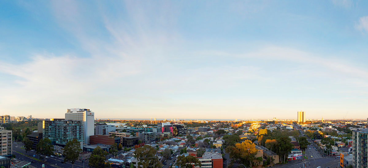 off the plan apartment for sale Linden House sky view
