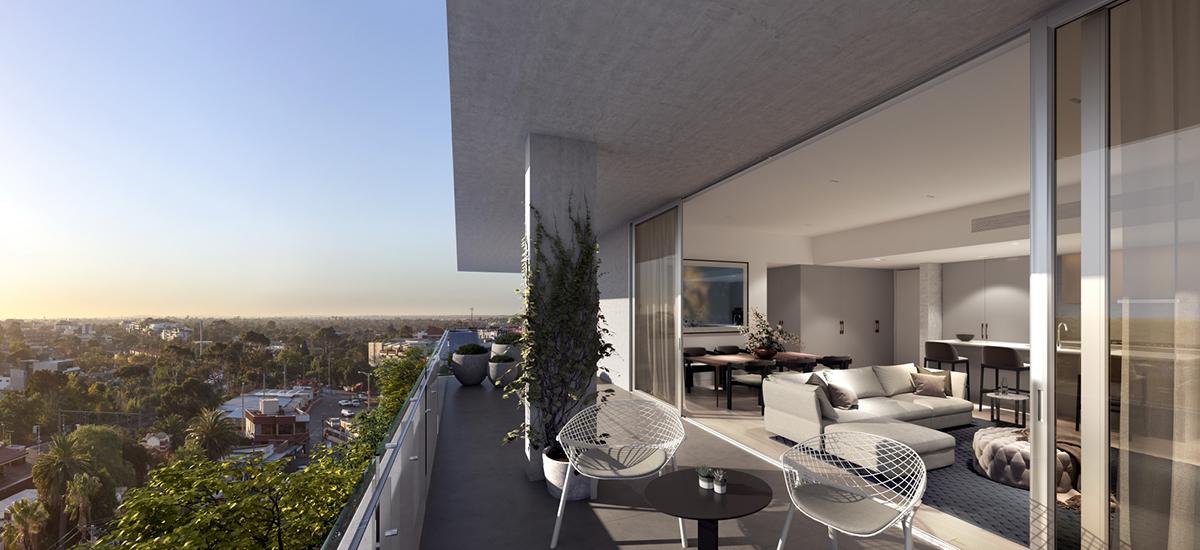Luminess balcony