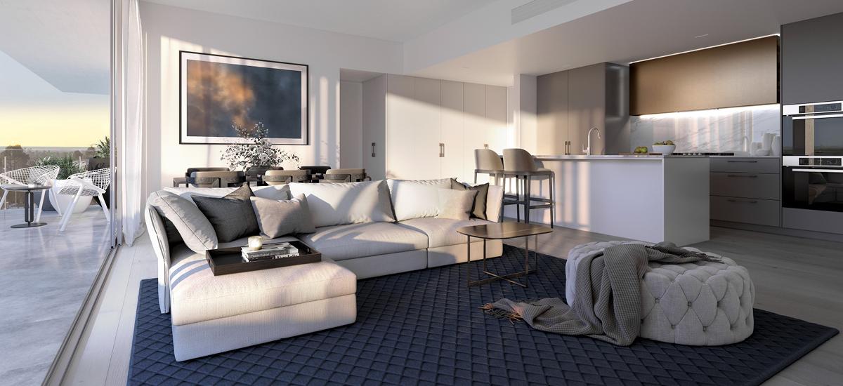 Luminess living room