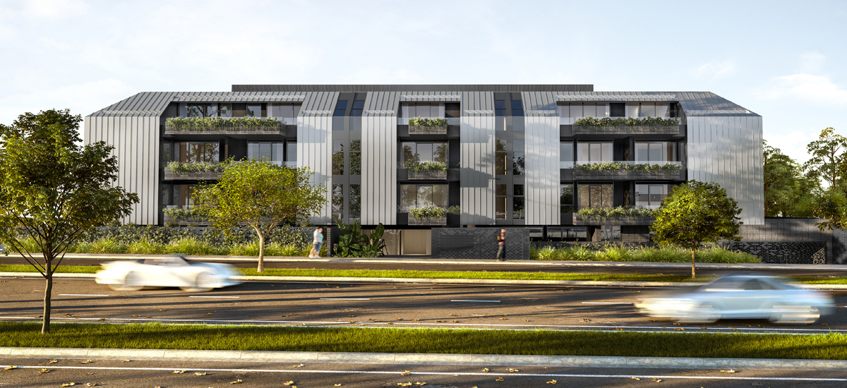 off the plan apartment for sale Manning Doncaster building exterior