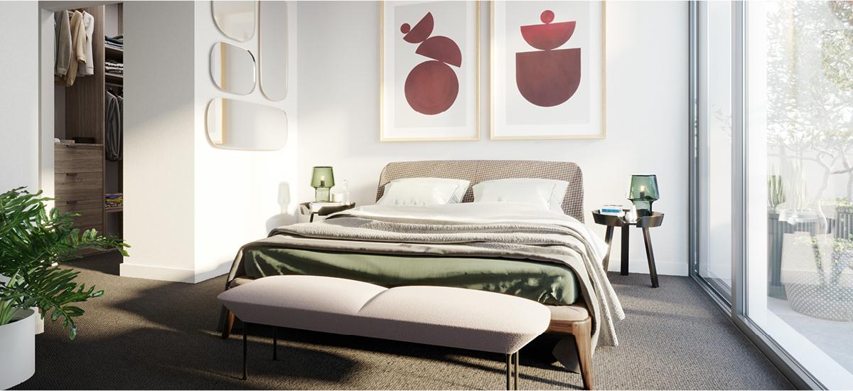 Maude Cheltenham bedroom